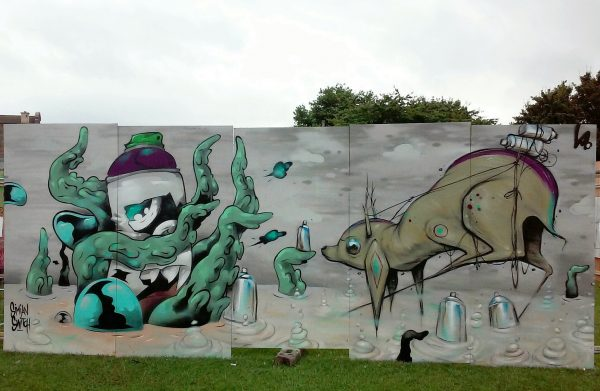 Upfest, with Simian Switch